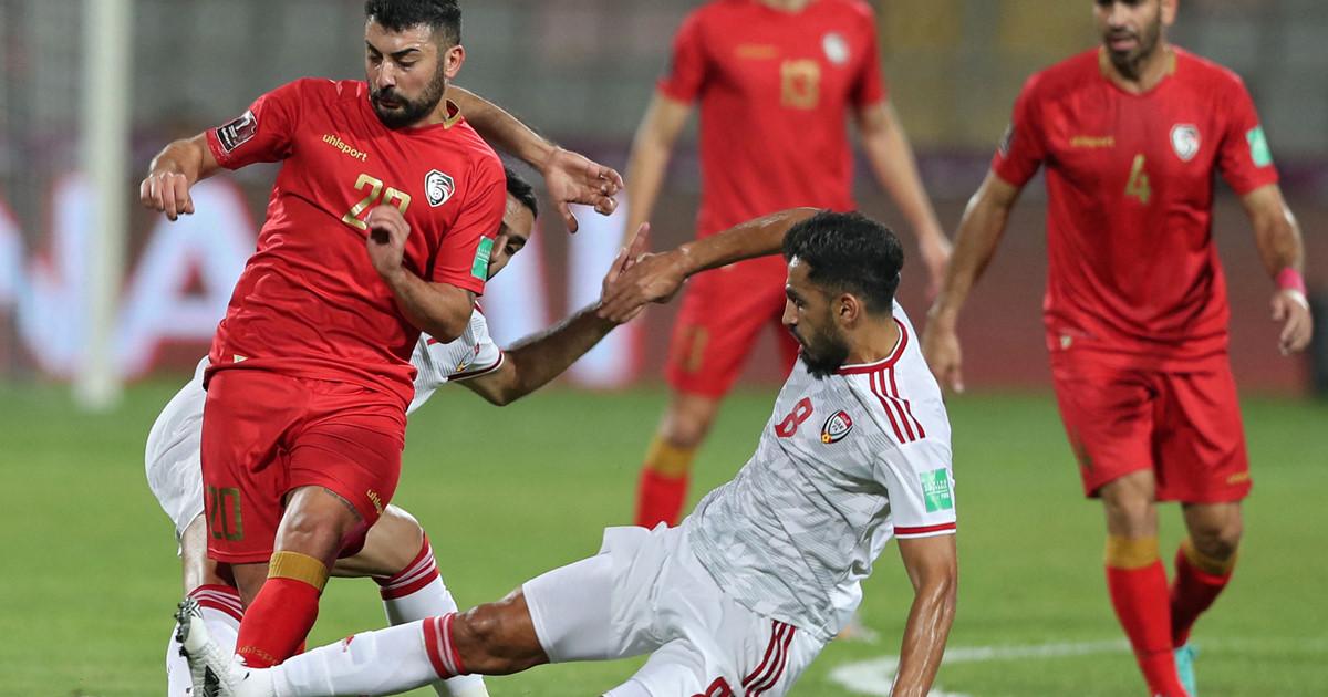 Diễn biến và kết quả trận đấu của Syria và UAE