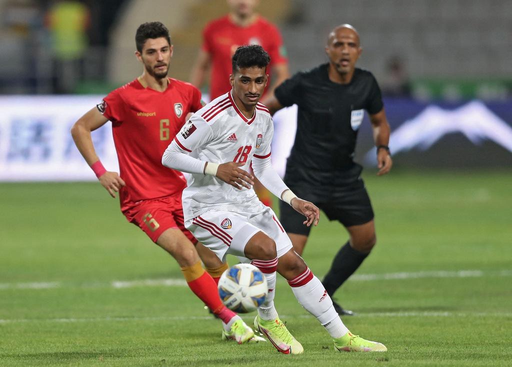 UAE hòa 1-1 với Syria ở vòng loại thứ 3 World Cup 2022