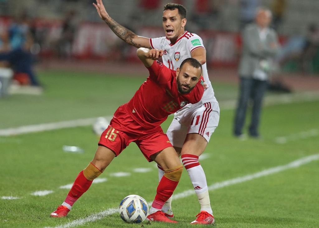 Đánh giá Syria và UAE trước trận đấu