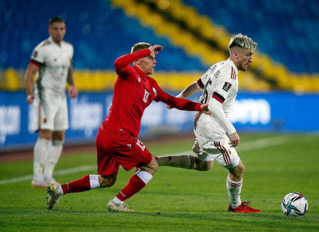 Bỉ dễ dàng đánh bại Belarus tại vòng loại world cup 2022