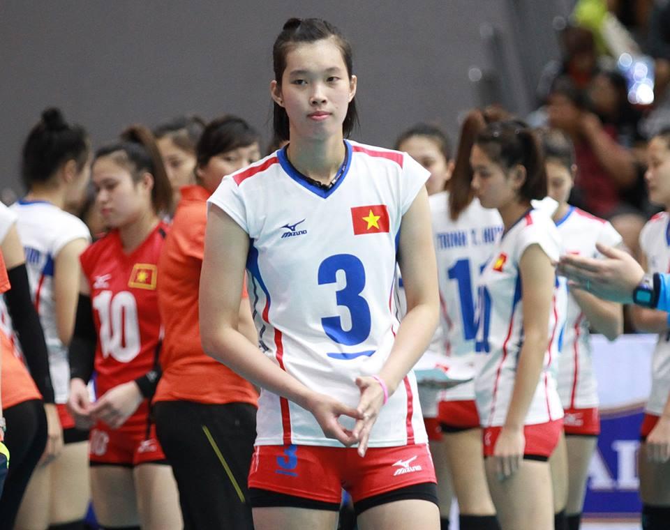 Thanh Thúy với chiều cao khủng 1m93 sẽ sang Nhật Bản thi đấu