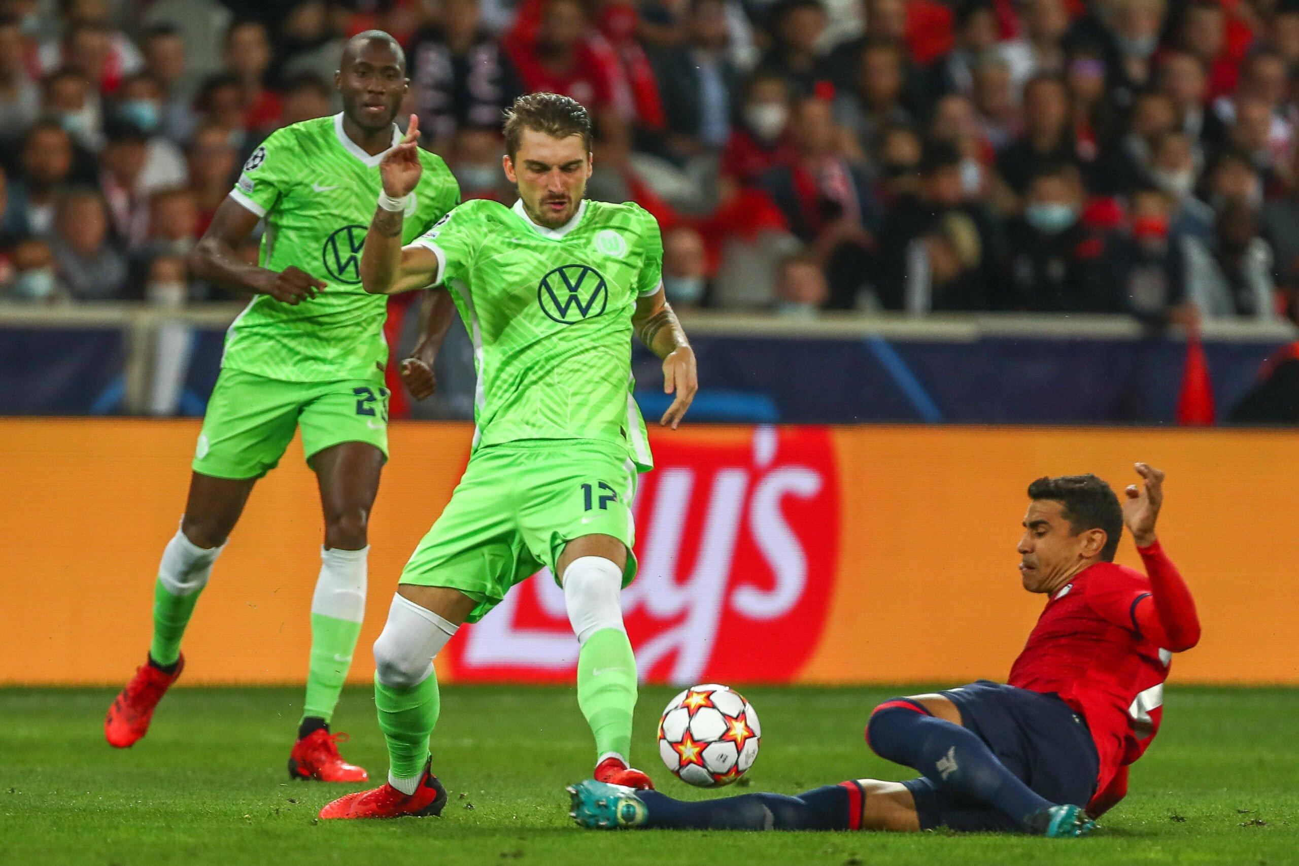Lille và Wolfsburg đã kết thúc trận đấu với tỷ số 0-0