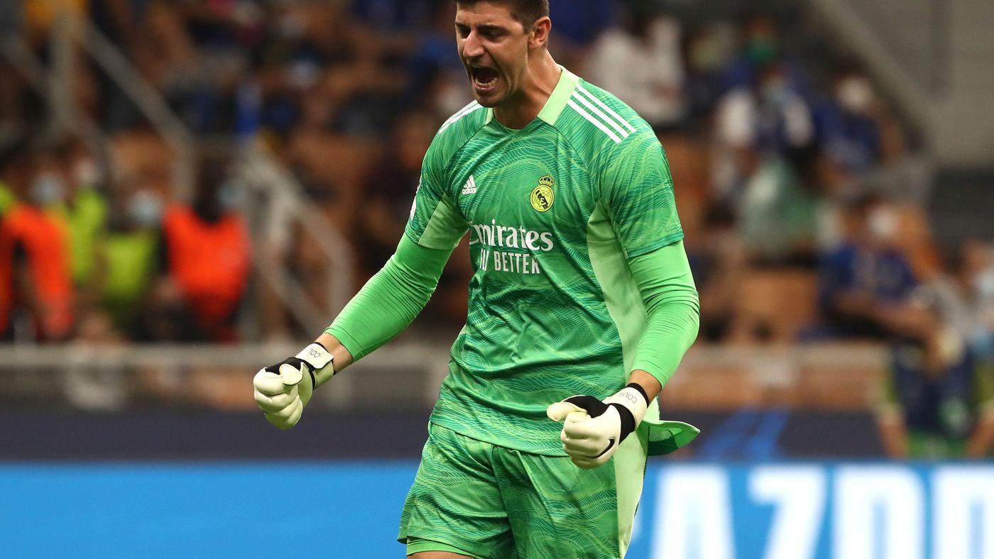 Courtois được ví như bức tường vững chắc của Real Madrid