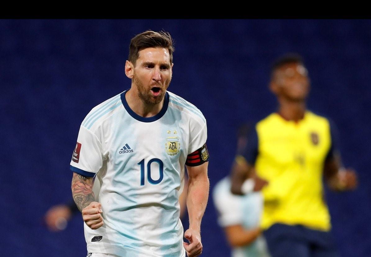 Tuyển Ecuador bị đánh bại trước Messi và đồng đội