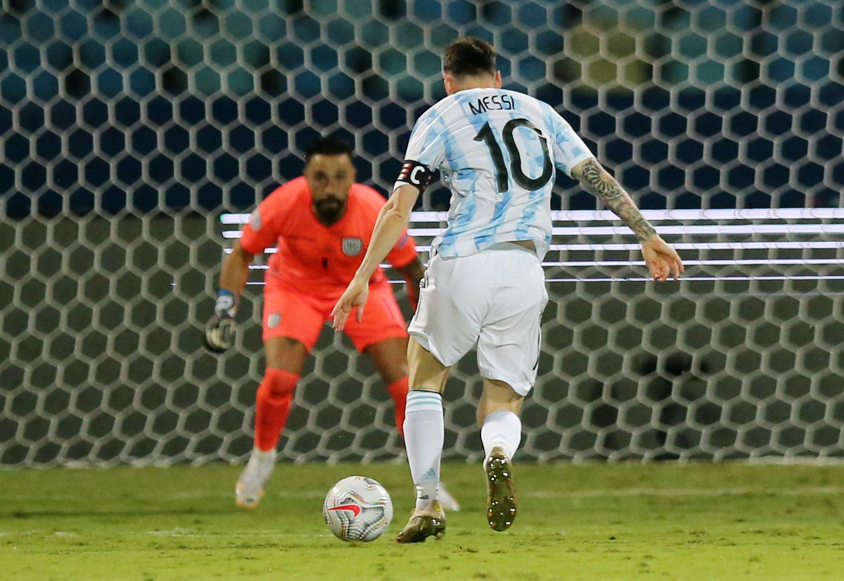 Argentina chiếm thế thượng phong suốt trận đấu