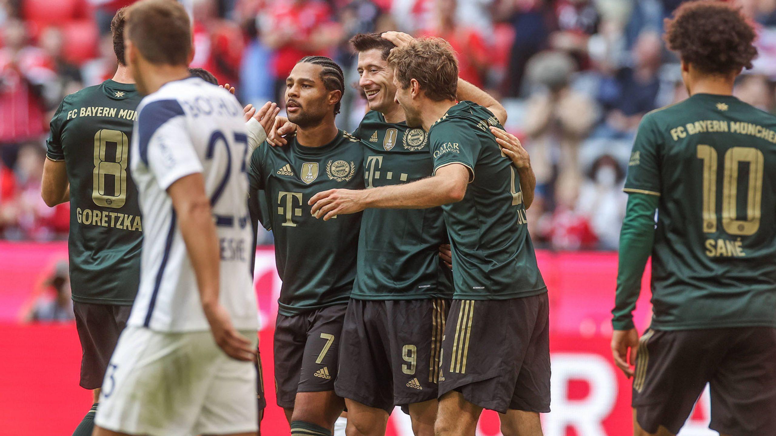Bayern Munich tạo nên cơn mưa bàn thắng trước tân binh Bochum