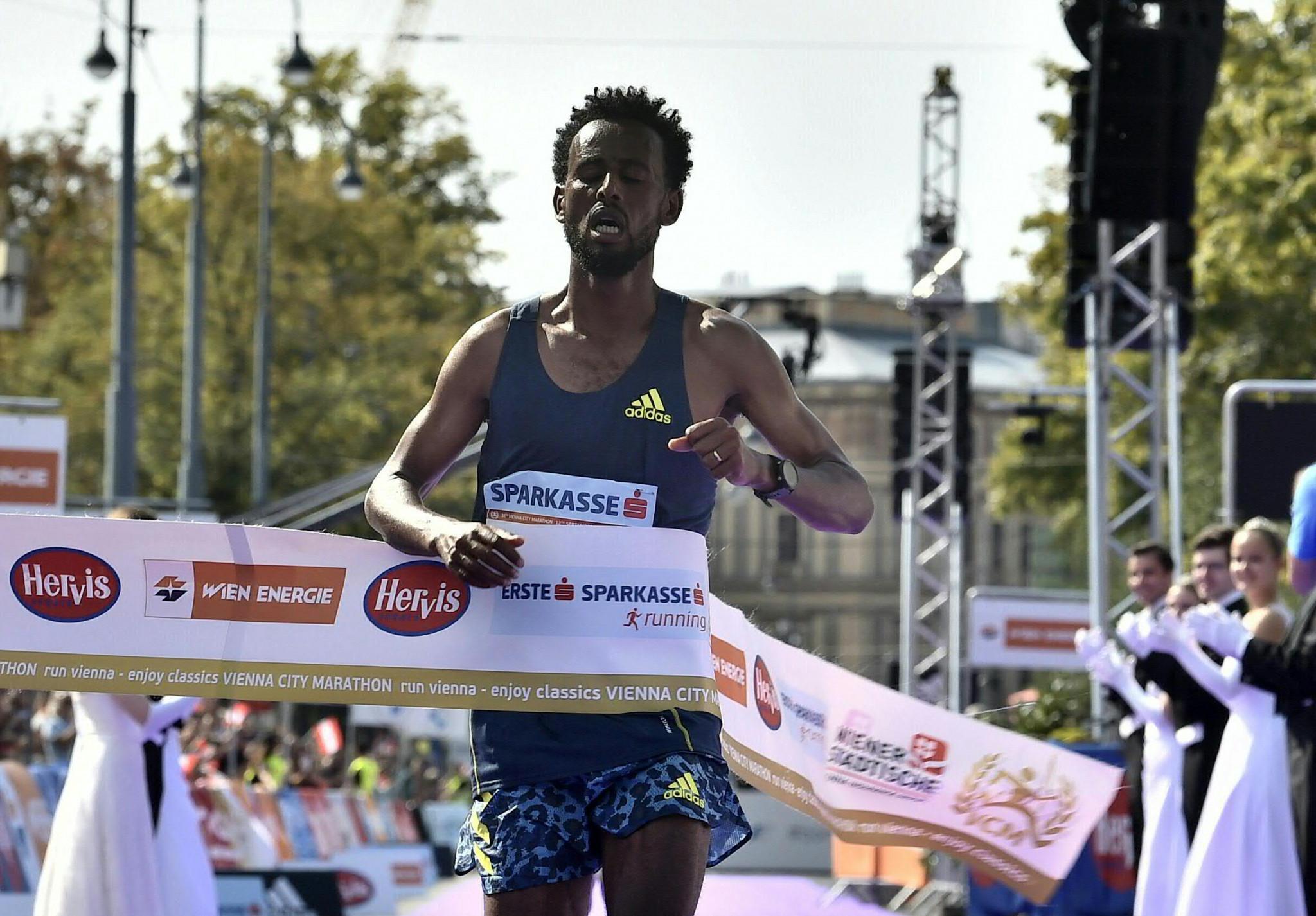 Ban tổ chức Vienna Marathon 2021 không công nhận chiến thắng của Derara Hurisa