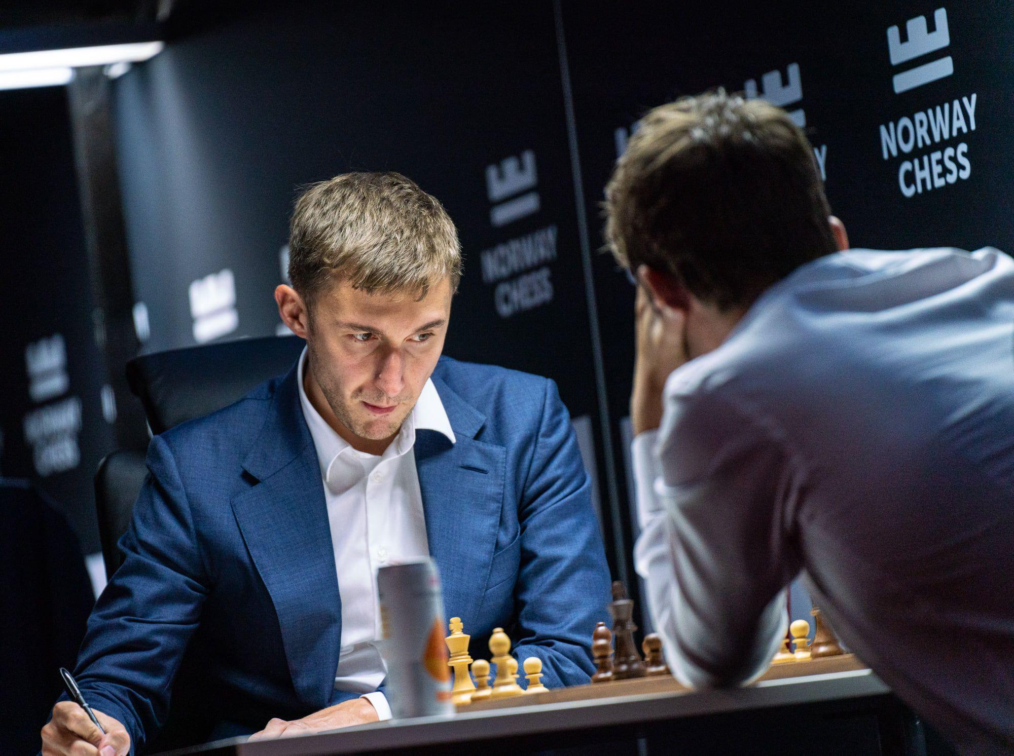 Karjakin đối đầu với Magnus Carlsen tại siêu giải Na Uy