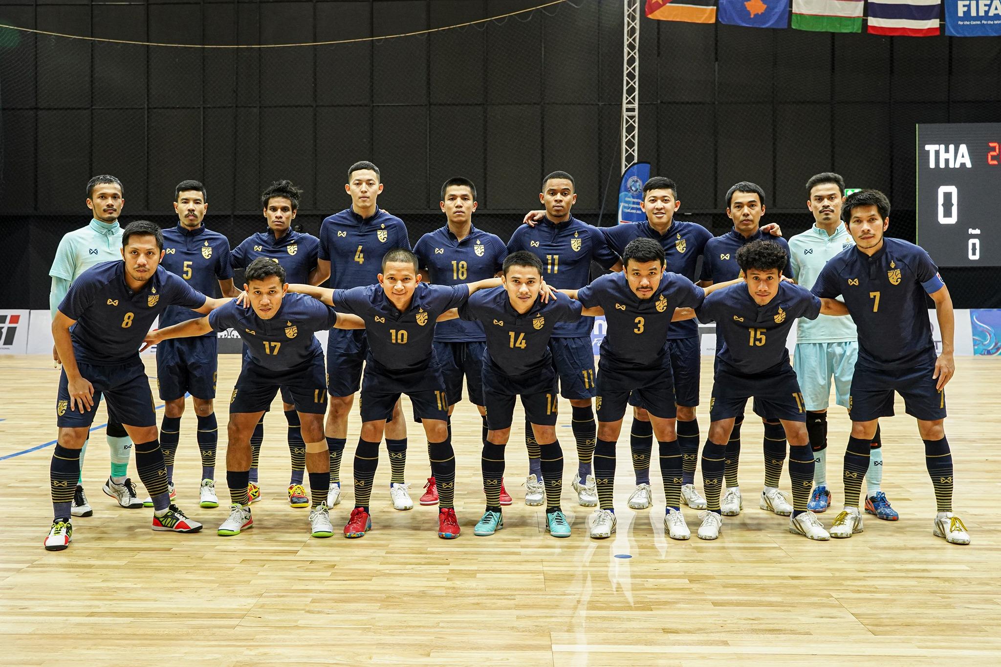 Thái Lan nối gót Việt Nam vào vòng 1/8 FiFa Futsal World Cup
