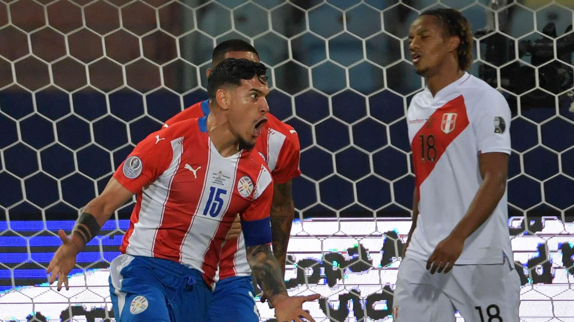 Tuyển Paraguay bị Peru đánh bại, mất tấm vé vào bán kết Copa 2021