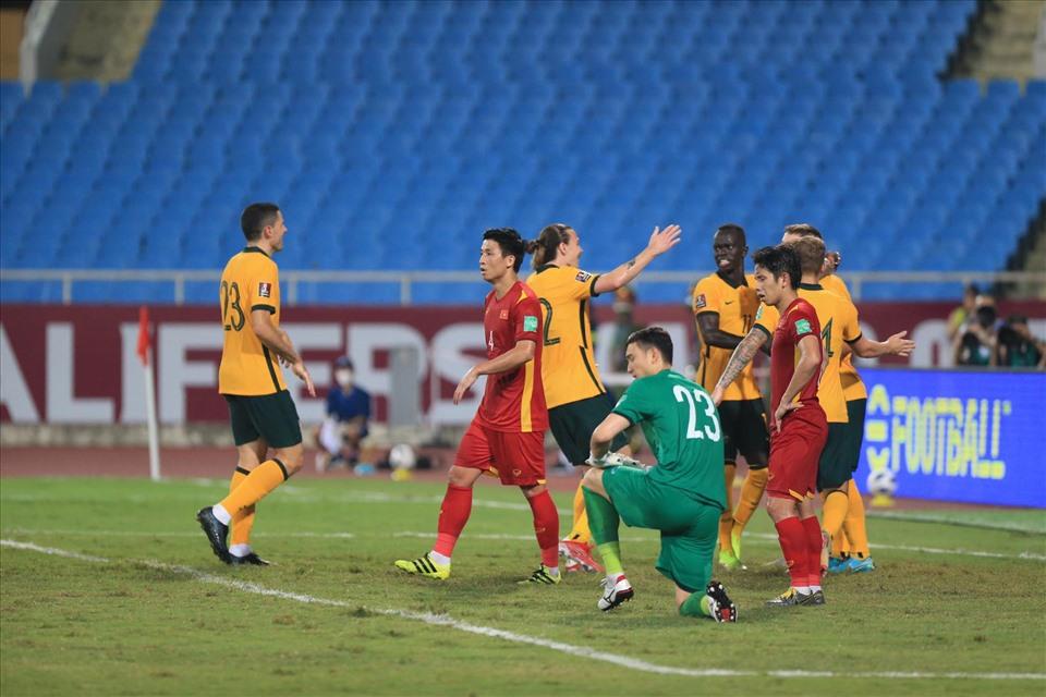 ĐT Việt Nam đã có một trận đấu đầy nỗ lực trước Australia và chỉ để thua với tỷ số tối thiểu