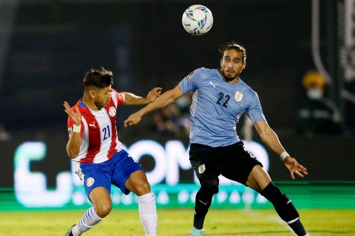 Tuyển Uruguay đánh bại tuyển Paraguay chiếm ngôi nhì bảng A