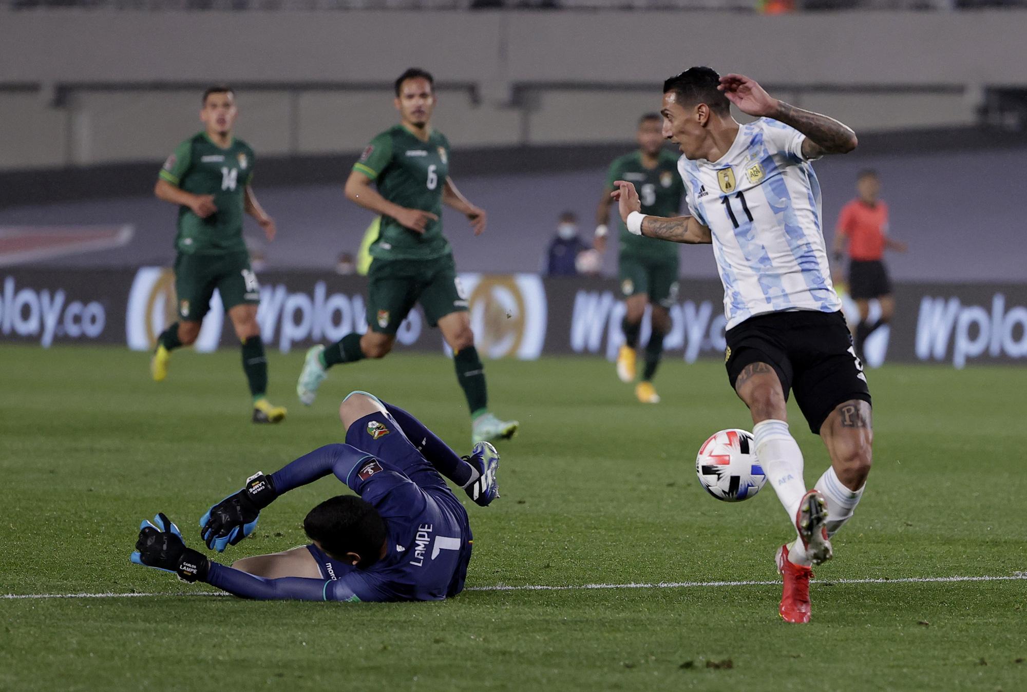 Argentina thắng đậm trước tuyển Bolivia tại Copa America 2021