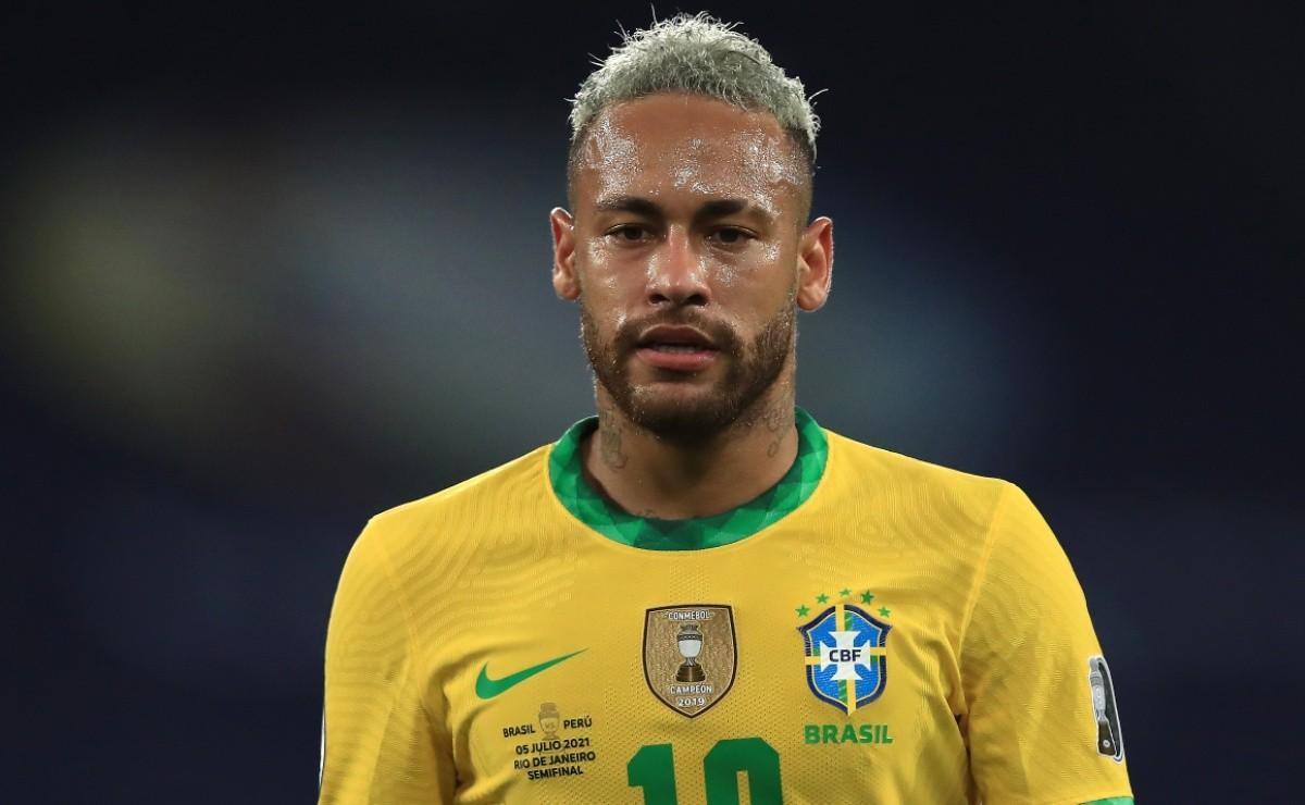 Cầu thủ Neymar không có duyên với cúp Copa America