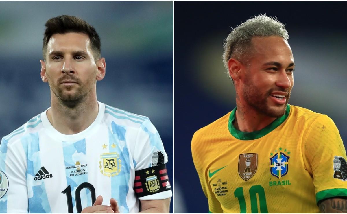 Danh hiệu cầu thủ xuất sắc nhất Copa 2021 thuộc về Lionel Messi và Neymar