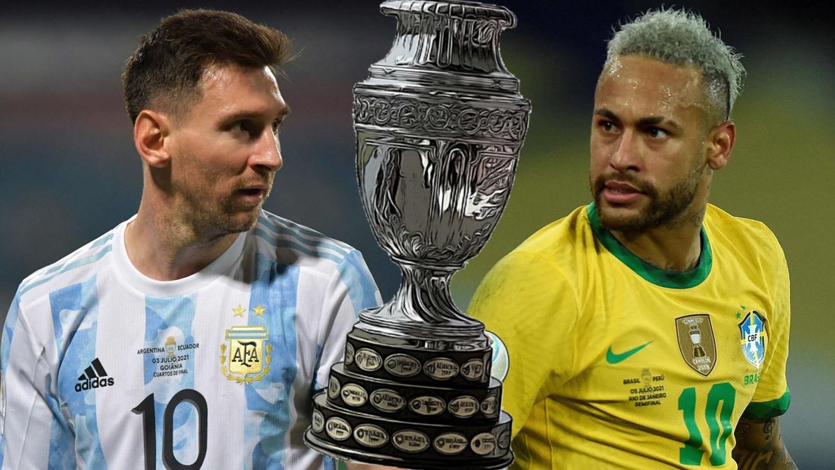 Cầu thủ Neymar gửi lời nhắn đến Messi trước trận đấu chung kết Copa 2021