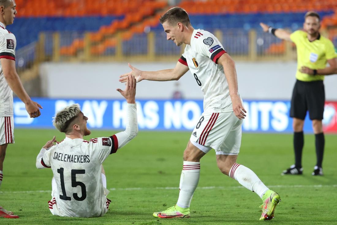 Tuyển Bỉ dành chiến thắng 1-0 trước Belarus
