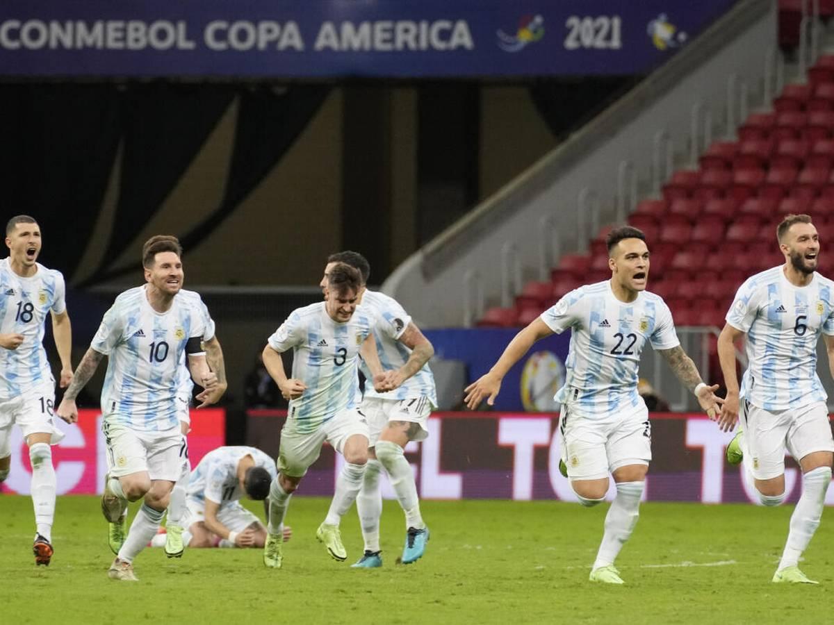 Tuyển Argentina thắng Colombia trên chấm luân lưu
