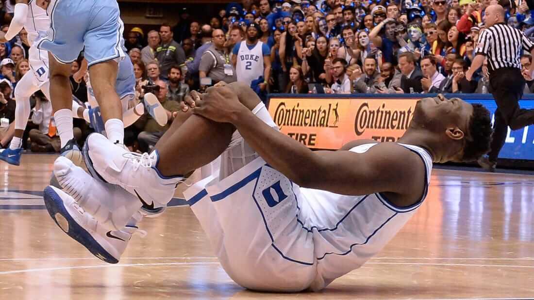 Các chấn thương ở đầu gối khi chơi bóng rổ