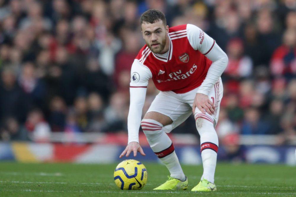 Calum Chambers không suôn sẻ tại Arsenal