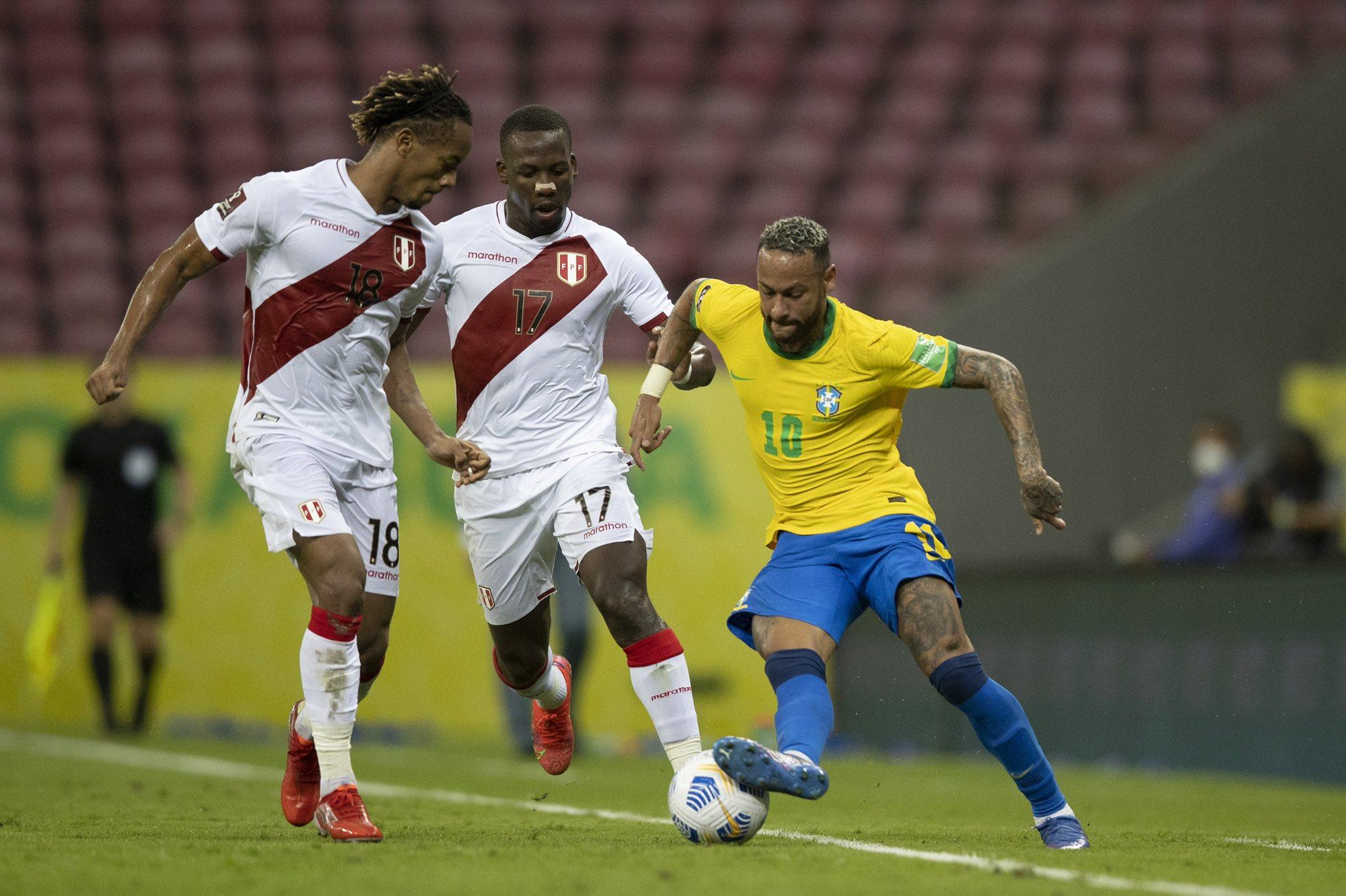 Neymar tỏa sáng trong trận đấu với Peru