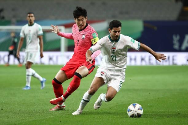 Hàn Quốc bị Iraq cầm hoà 0-0 trong trận ra quân bảng A vòng loại thứ ba World Cup 2022