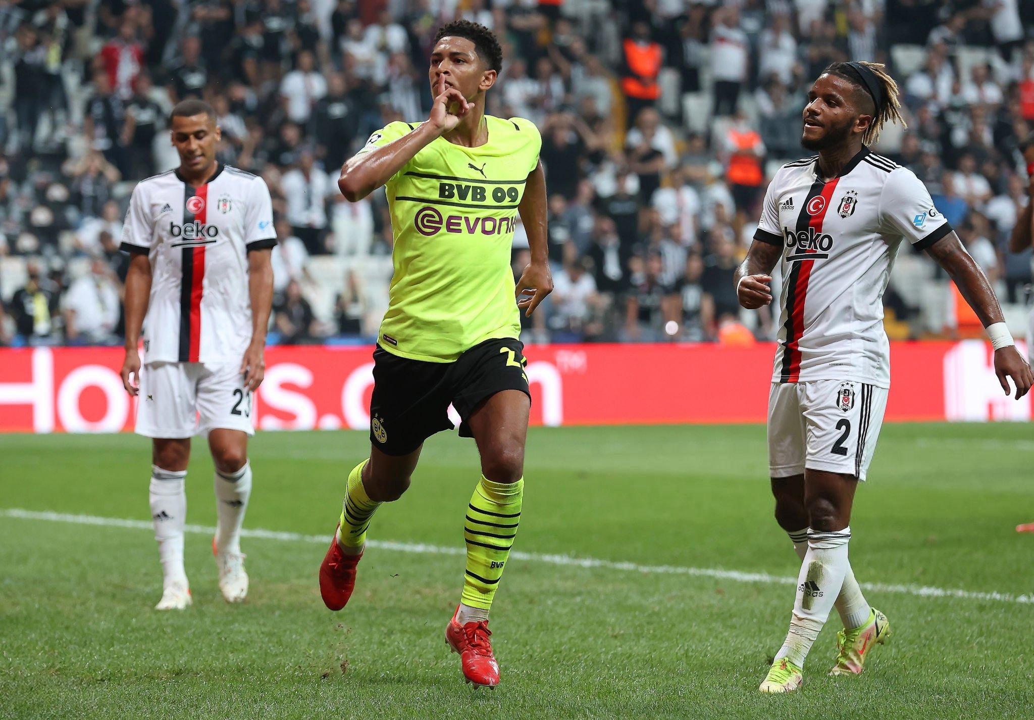 Dortmund mở tỷ số trận đấu với bàn thắng của Bellingham trong hiệp 1