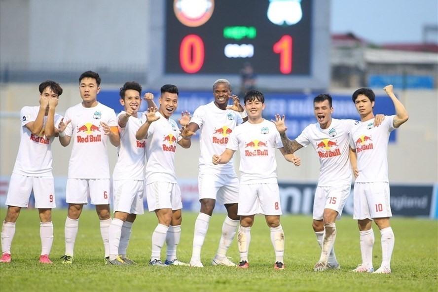 Hoàng Anh Gia Lai chờ quyết định có được công nhận chức vô địch V.League 2021 hay không