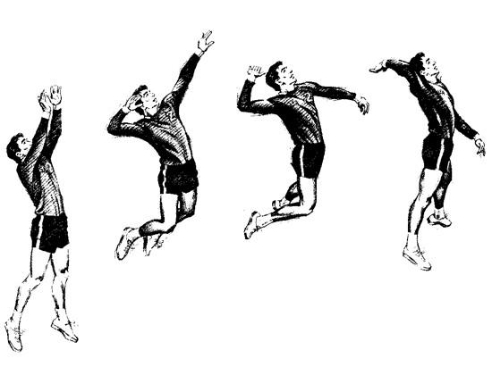 Hướng dẫn tập chạy đà trong bóng chuyền