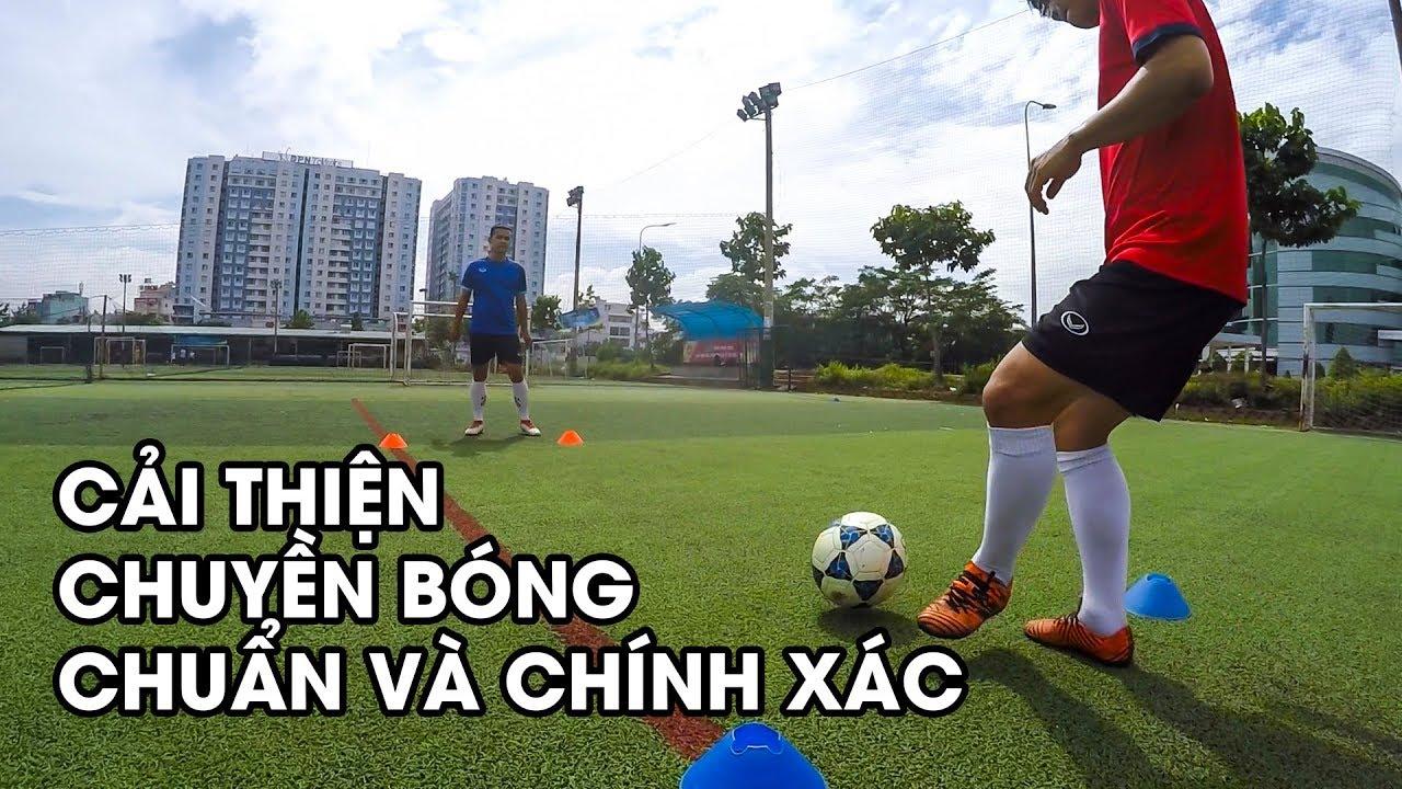 Kỹ thuật chuyền bóng chuẩn xác trong bóng đá