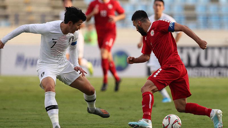 Diễn biến trận đấu Hàn Quốc vs Lebanon