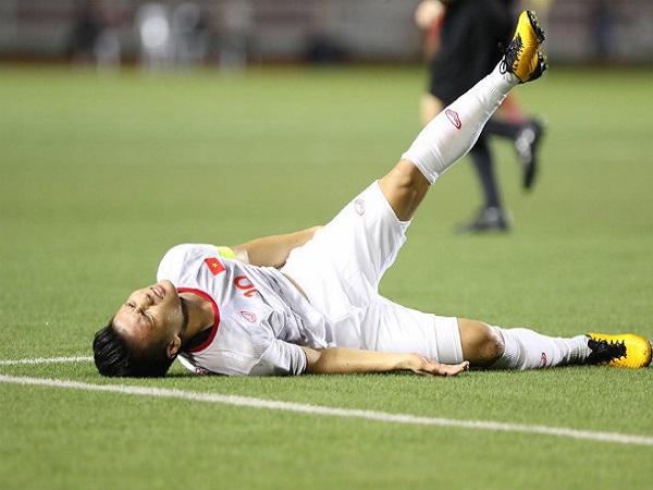 Mách bạn cách xử lý chấn thương cơ háng khi chơi bóng đá