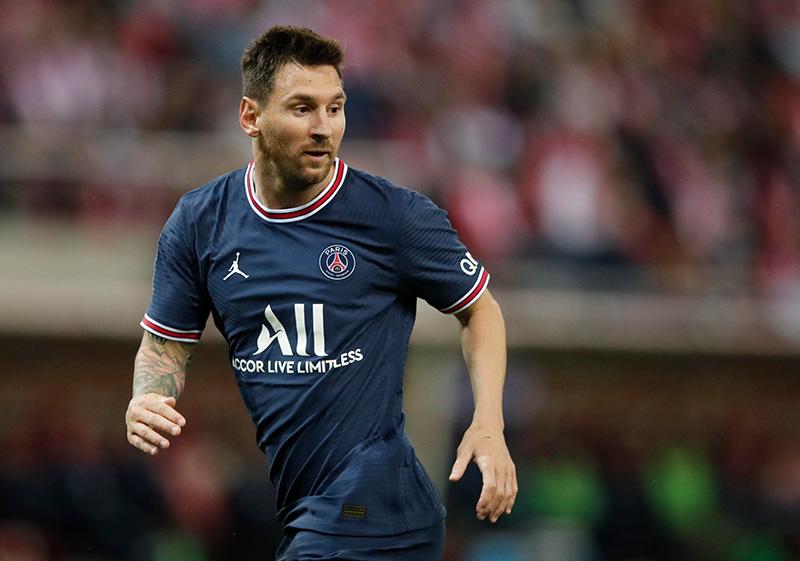 Messi trong màu áo CLB mới