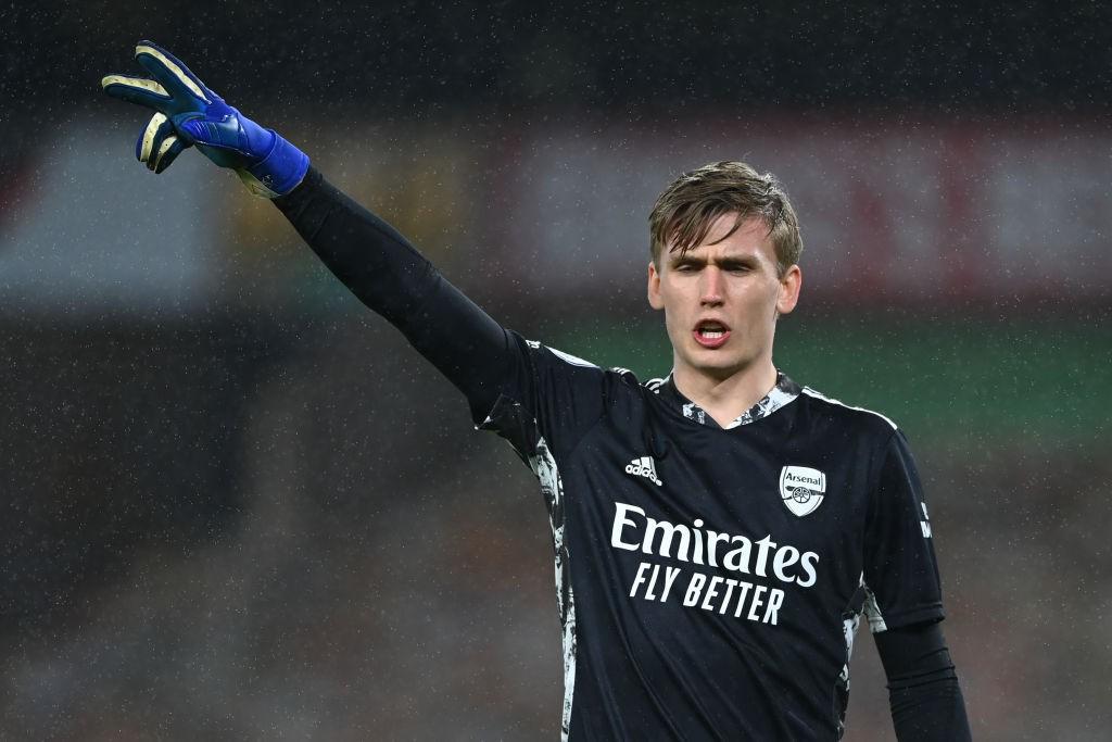 Runar Alex Runarsson khó lòng được trọng dụng tại sân Emirates