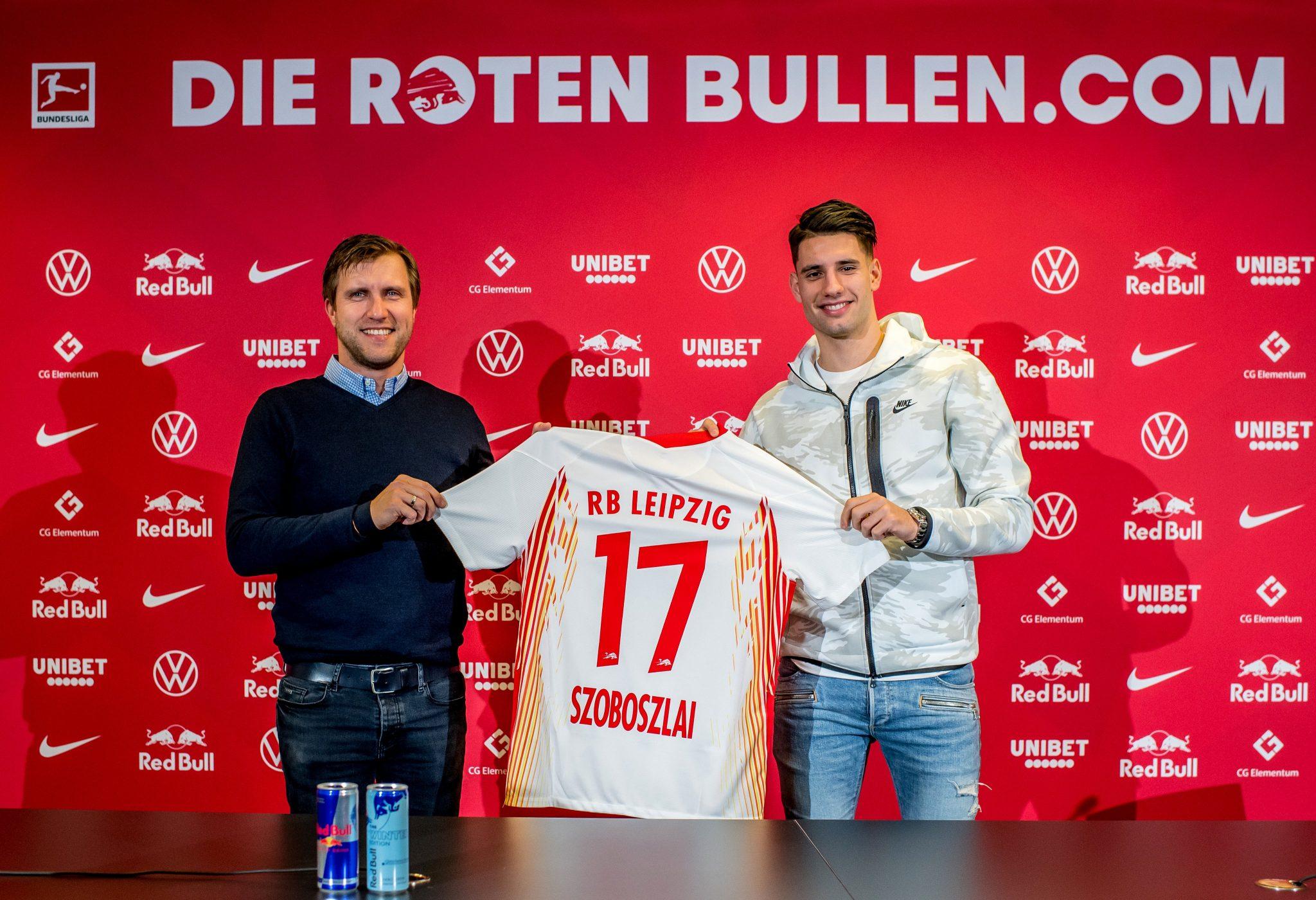 Szoboszlai đã ký hợp đồng bốn năm rưỡi với Leipzig hồi trung tuần tháng 12/2020
