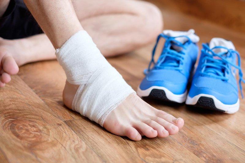 Tình trạng chấn thương cơ và bong gân