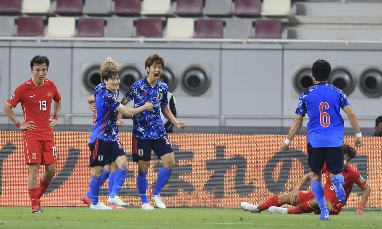 Nhật Bản thắng Trung Quốc tại vòng loại World Cup