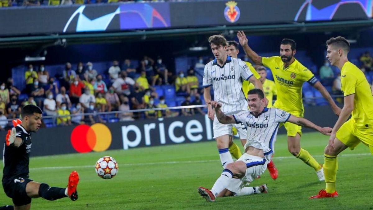 Trận đấu ngày 15/9 là lần đầu tiên Villarreal và Atalanta đụng độ nhau tại đấu trường C1