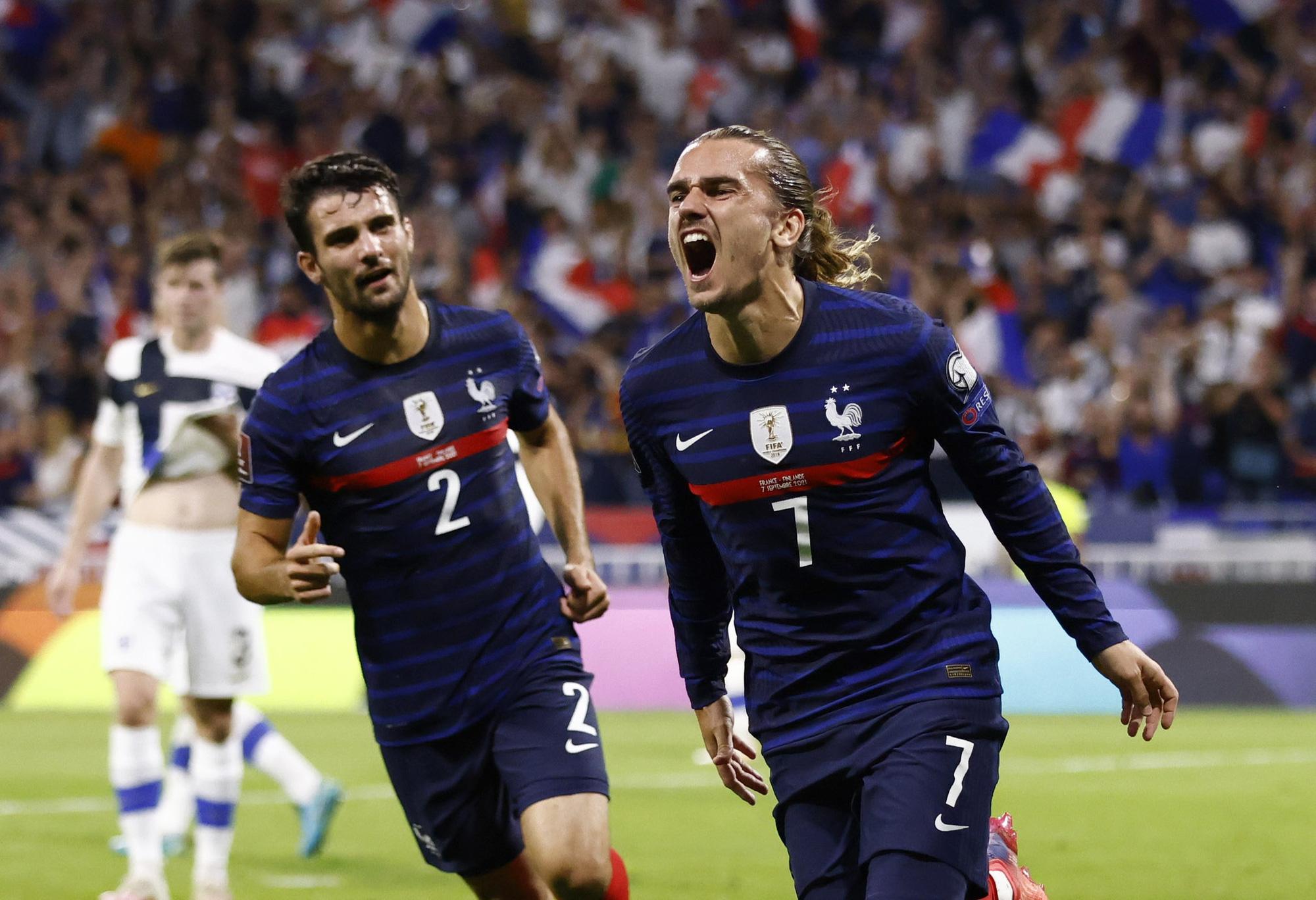 Đội tuyển Pháp có lợi thế lớn trên sân nhà