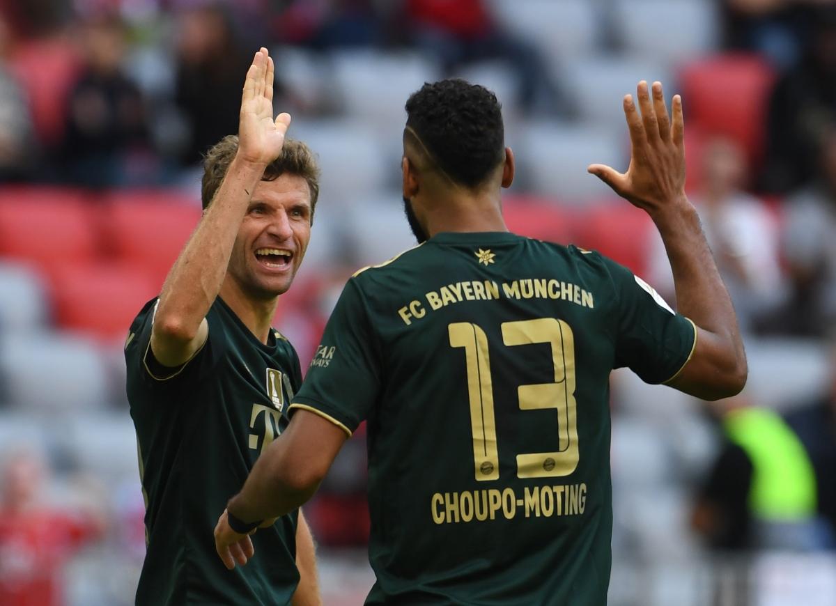 Choupo-Moting ghi bàn thắng ấn định tỷ số 7-0 của Bayern