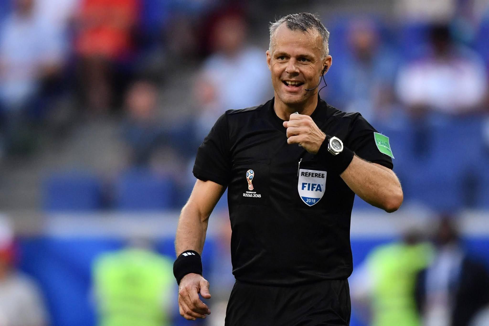 Bjorn Kuipers được chỉ định là người cầm còi cho trận chung kết Euro 2020 giữa Anh và Ý