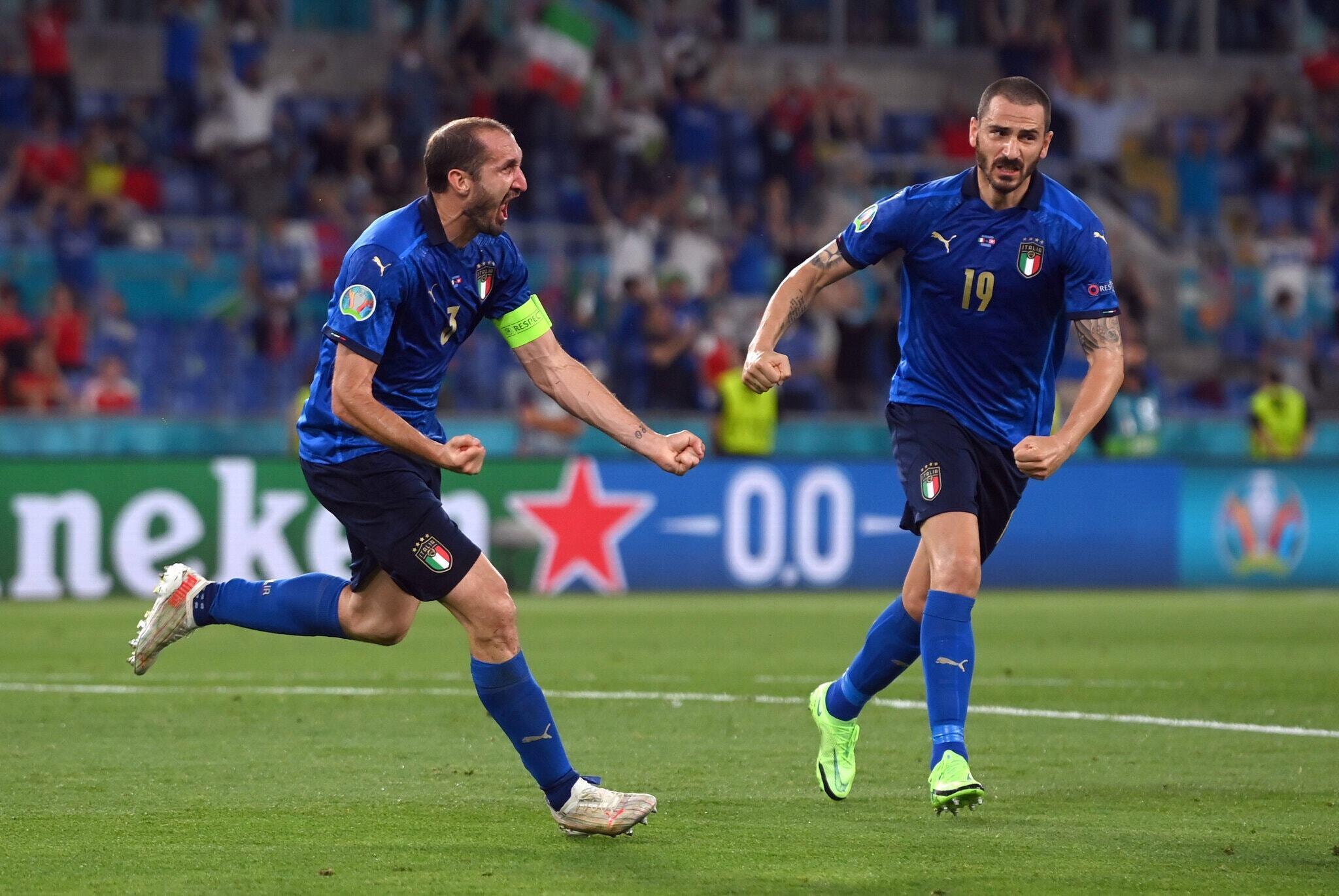 Bàn gỡ hoà của Bonucci có ý nghĩa đặc biệt lớn lao đối với anh và cả đội tuyển Ý
