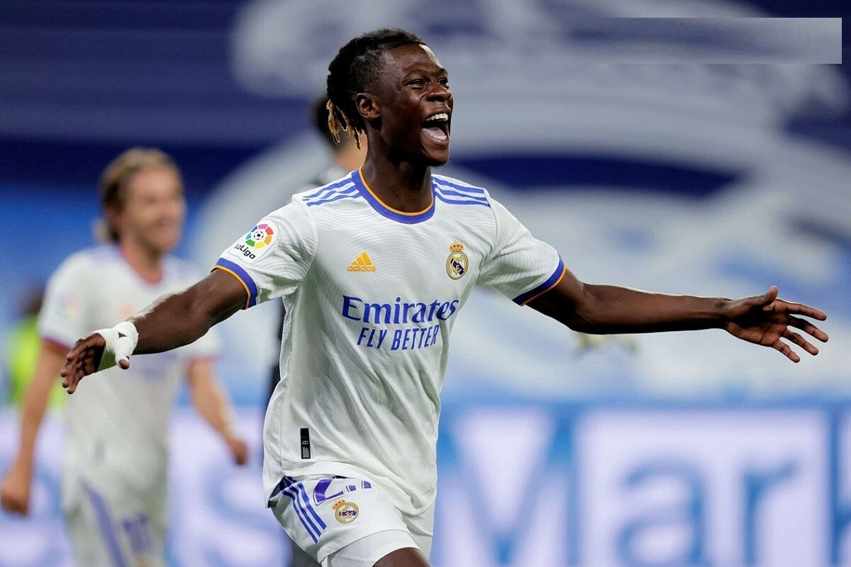 Camavinga ghi dấu giày trong hai bàn thắng vào lưới Celta Vigo
