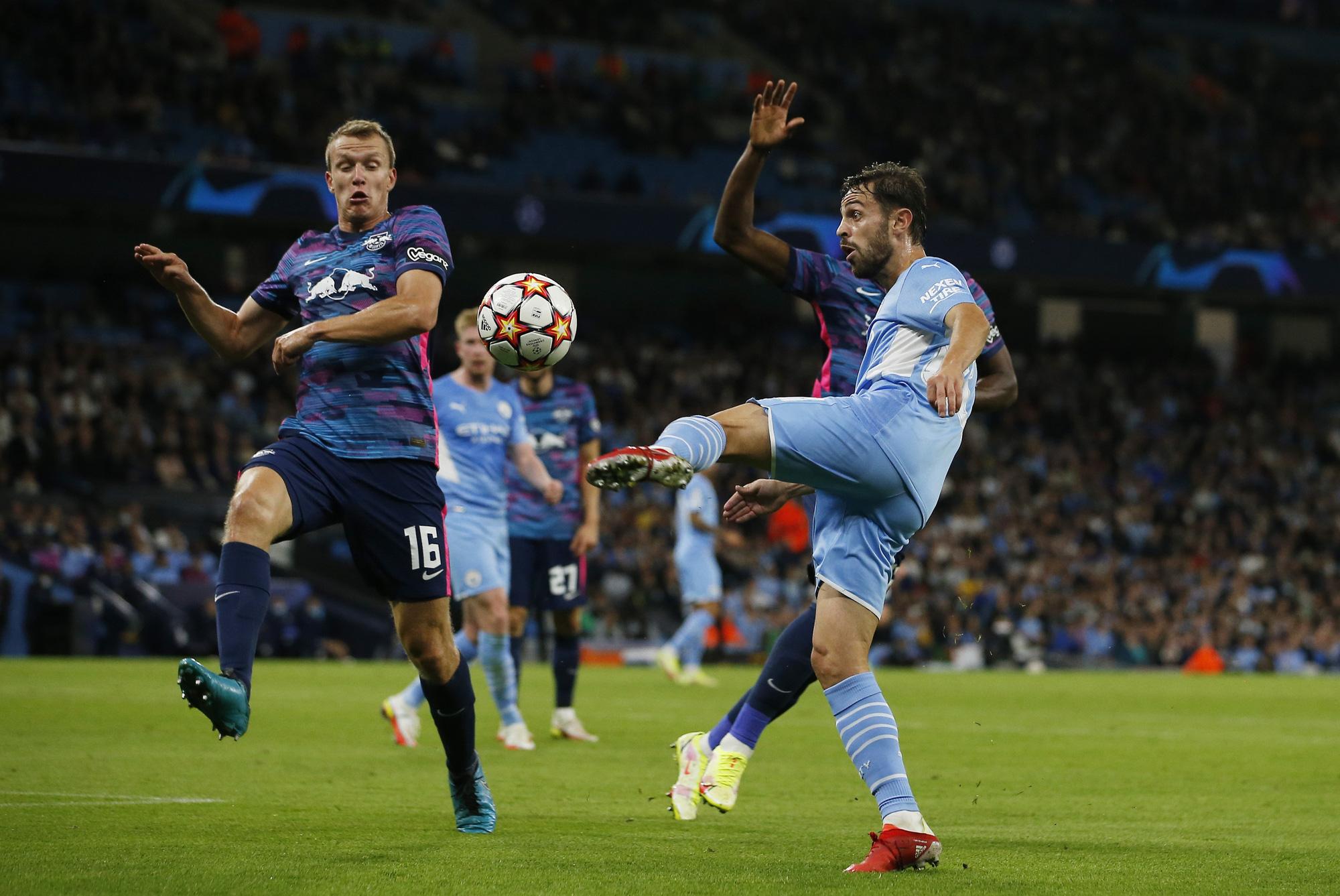 Man City thắng lớn trước Leipzig với tỷ số 6-3