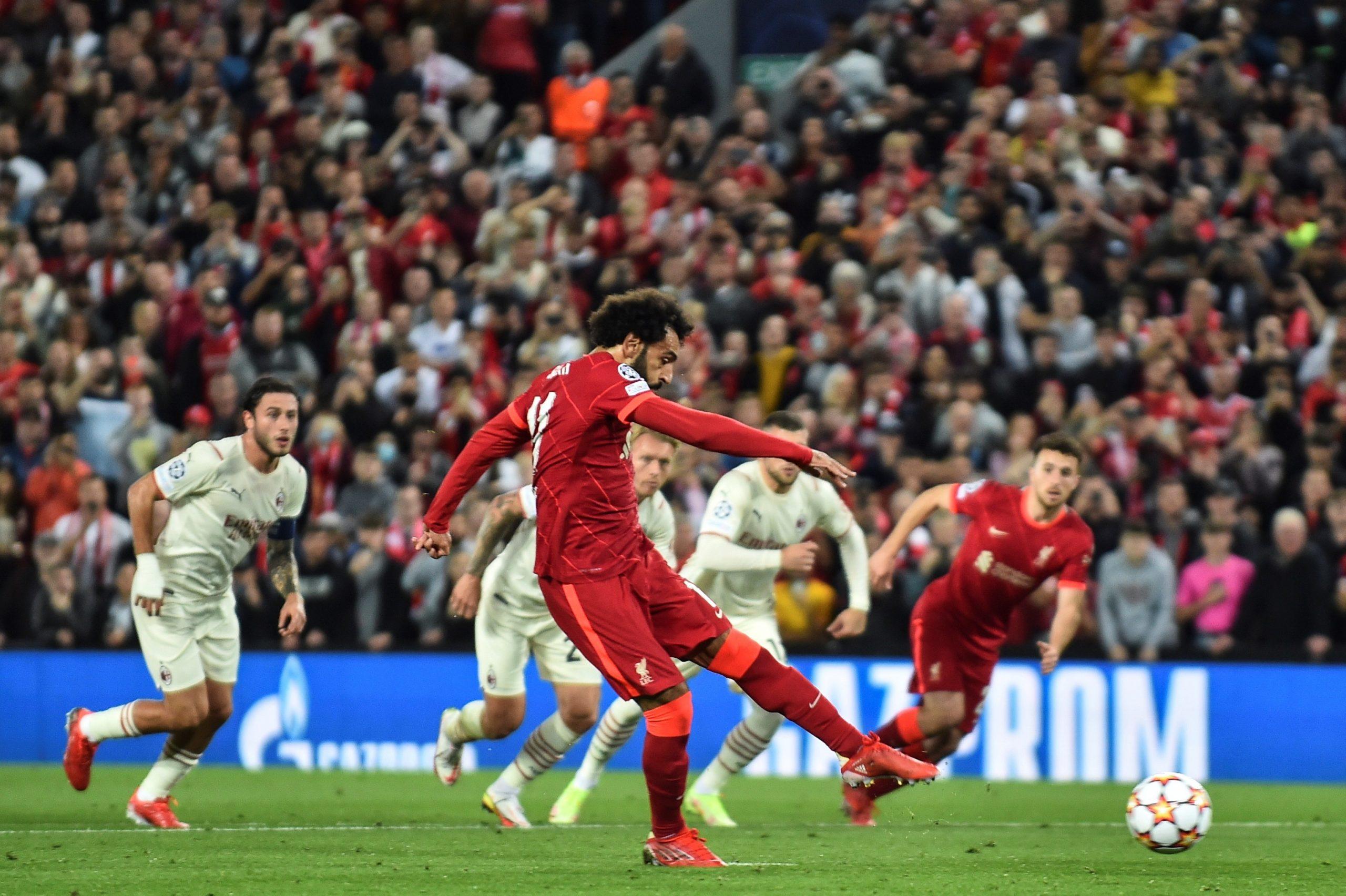 Mohamed Salah đá hỏng phạt đền cho Liverpool sau 4 năm