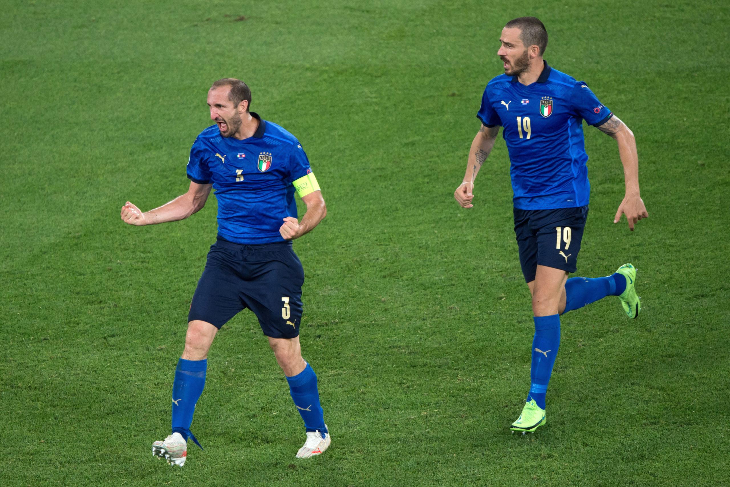 Trung vệ Chiellini đánh giá cao về tài năng của đội trưởng đội tuyển Anh - Harry Kane