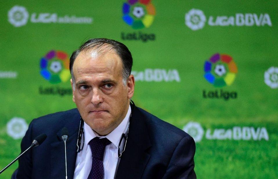 Chủ tịch La Liga tuyên chiến với Paris Saint-Germain