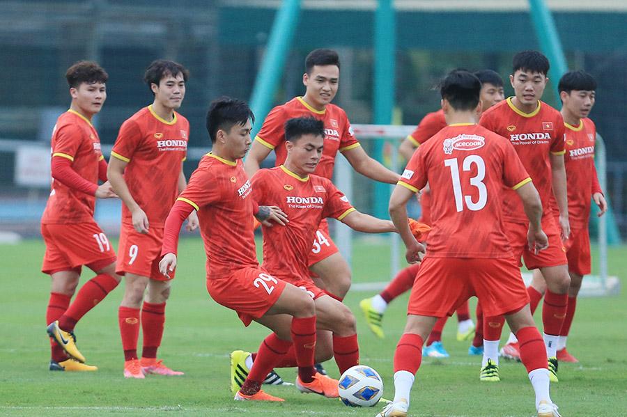 HLV Park Hang-seo công bố danh sách 32 cầu thủ chuẩn bị cho 2 trận gặp Trung Quốc và Oman