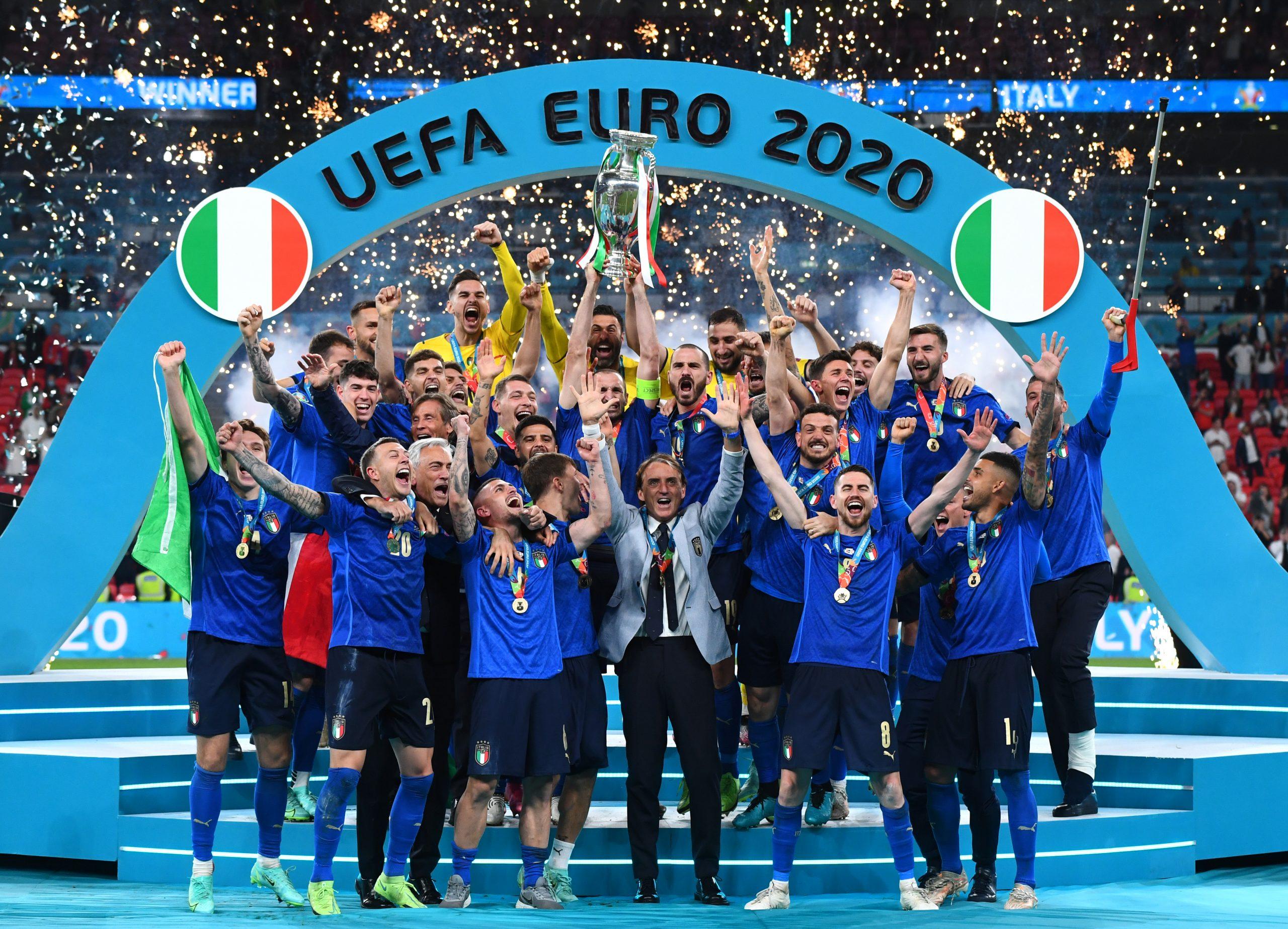 Sau chức vô địch tại Euro 2020, đội tuyển Italy đã nhận được khoản tiền thưởng khổng lồ