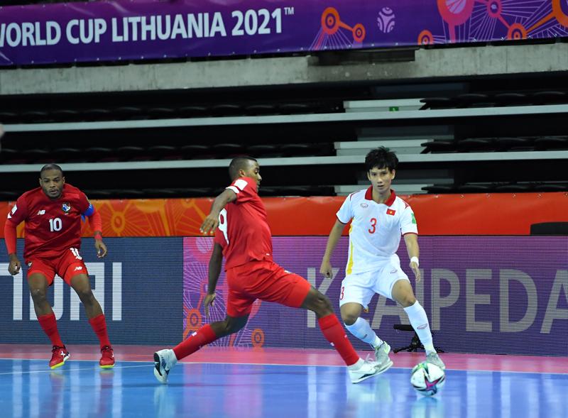 ĐT Futsal Việt Nam vừa có chiến thắng quan trọng trước Panama để tiếp tục tại World Cup 2021